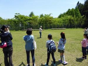 講師の竹とんぼは、軽く10m以上上がります