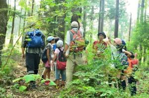 20150801-02自然観察会へスタート